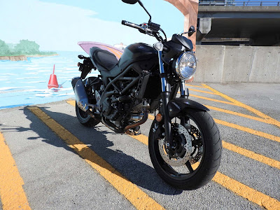 2017 Suzuki SV650 front look Hd Pictures