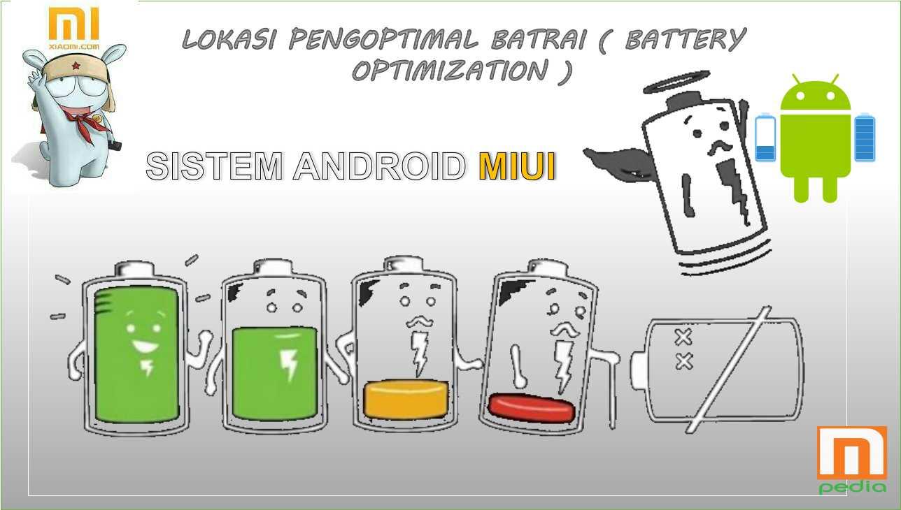 Cara Mengakses Pengoptimalan Baterai Pada Sistem Android MIUI ( Xiaomi )