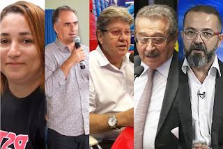 Candidatos ao Governo participam de comícios pela Paraíba