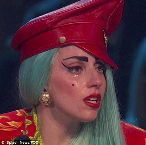 Reangseneng Oen Yaqen Pok Gelem Ea That S Not A Poker Face Lady Gaga Breaks Down While Judging So You Think You Can Dance