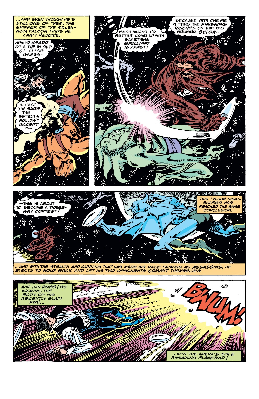 Read online Star Wars Legends: The Original Marvel Years - Epic Collection comic -  Issue # TPB 1 (Part 4) - 100