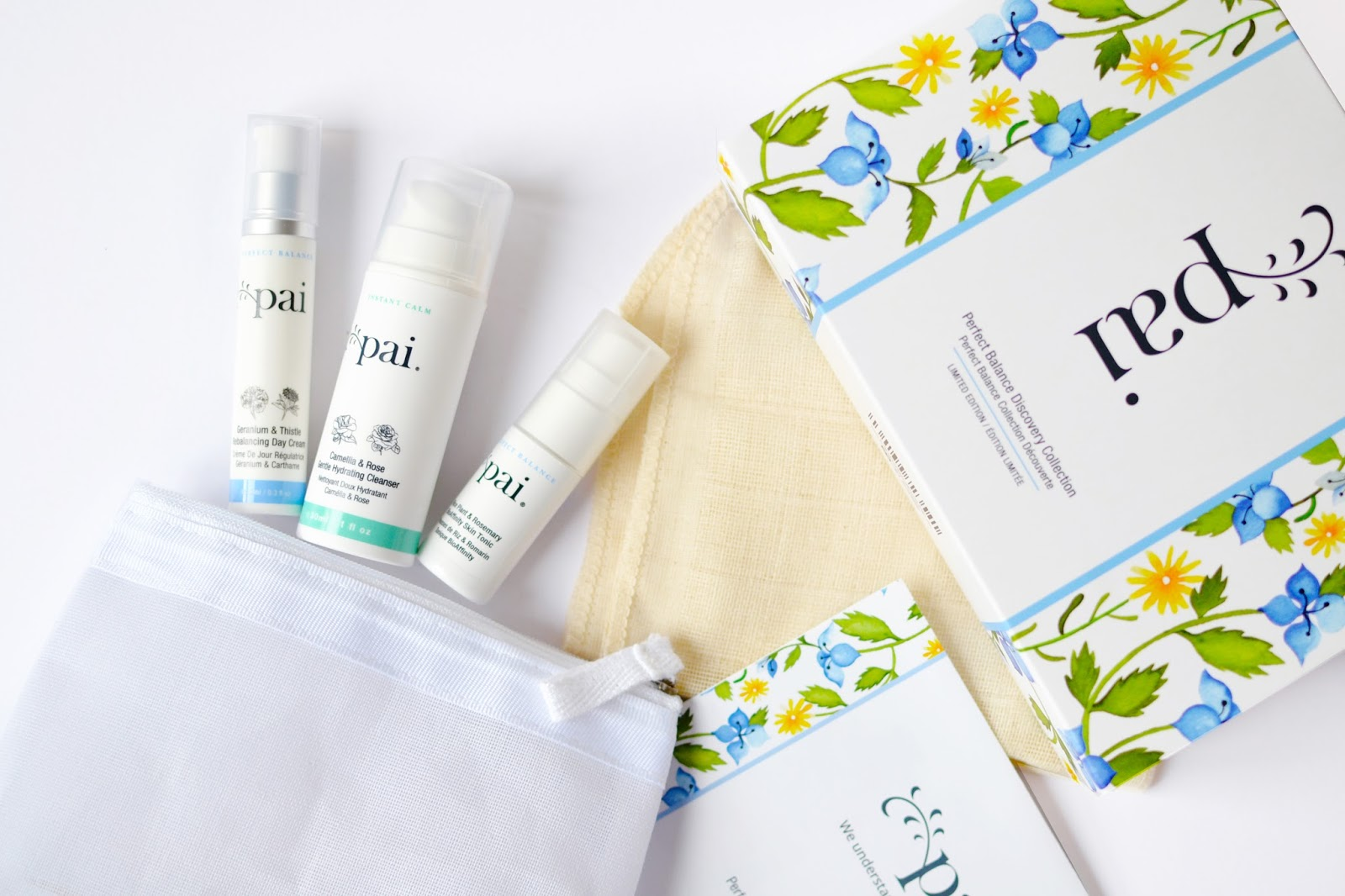 Pai Skincare for sensitive skin