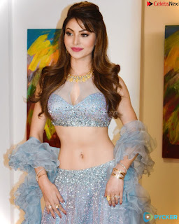 Urvashi Rautela sizzling Beauty Queen Spicy Silver Choli .xyz Exclusive Pics 009