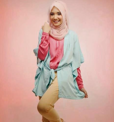 model baju hijab zaskia sungkar