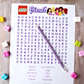 LEGO Friends Word Search