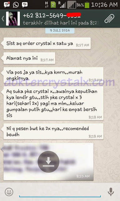 Testimoni Manfaat Crystal X Asli NASA 3