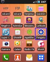 Cara hapus data  aplikasi di Handphone Android