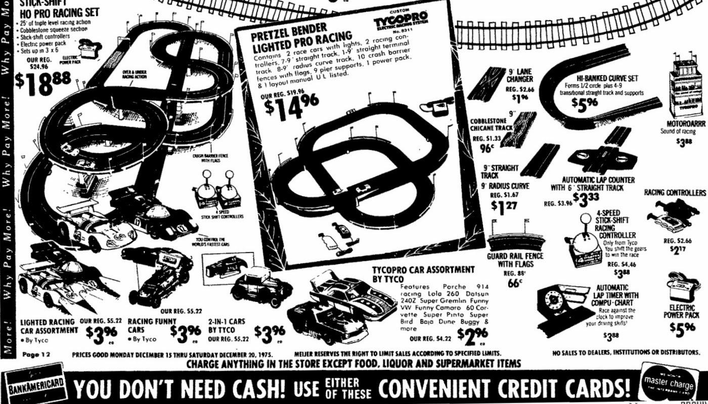 Mopar Ads & Oddities: Meijer / Tyco Pro Superbird (MI) ~ 1975