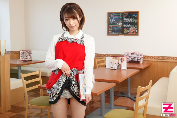 Heyzo-1780-HD What a special waitress special service! Reverse order of the customer's sausages! Yuki Sasaki