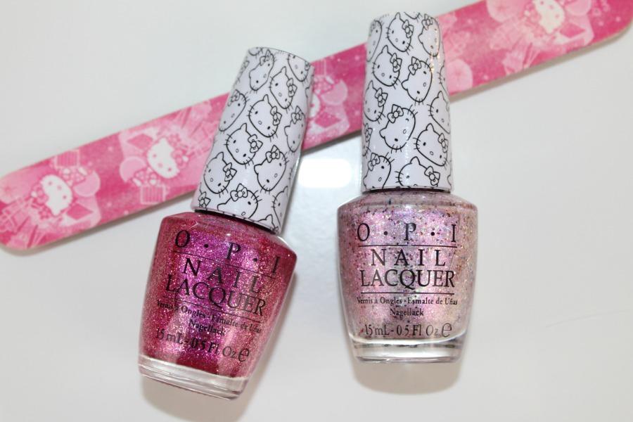 OPI Hello Kitty Nail Polish Review and Photos | Pink ...