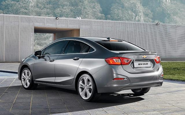 Novo Chevrolet Cruze 2019