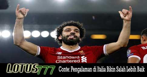 Conte: Pengalaman di Italia Bikin Salah Lebih Baik