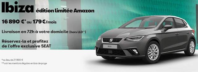 Seat Ibiza Amazon