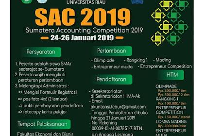 Pengalaman Mengikuti Sumatera Accounting Competition 2019 di Fekon UNRI