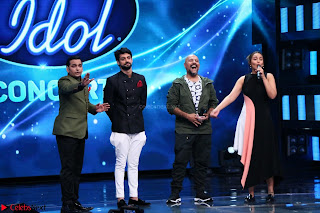 Sonakshi Sinha on Indian Idol to Promote movie Noor   IMG 1614.JPG