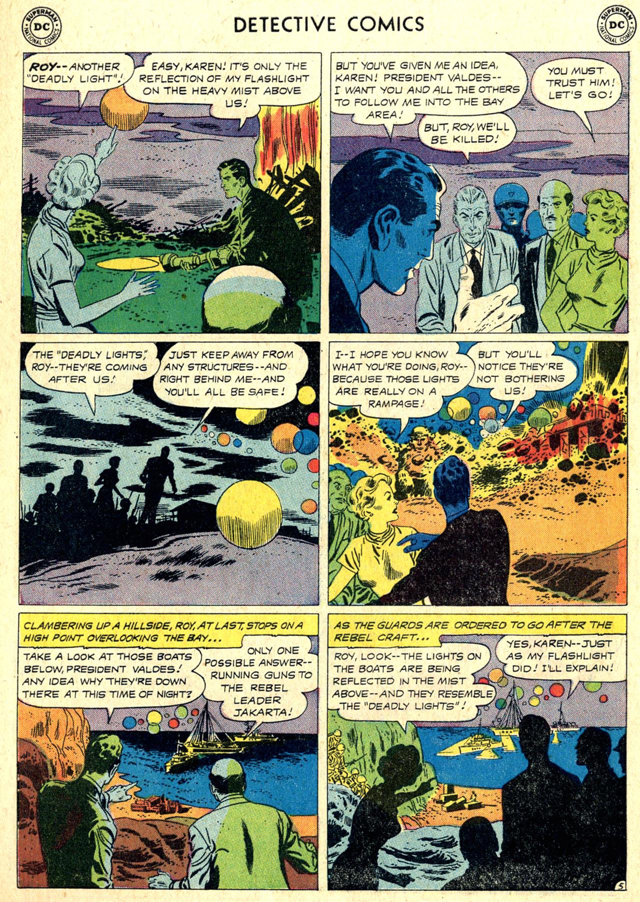 Read online Detective Comics (1937) comic -  Issue #265 - 22
