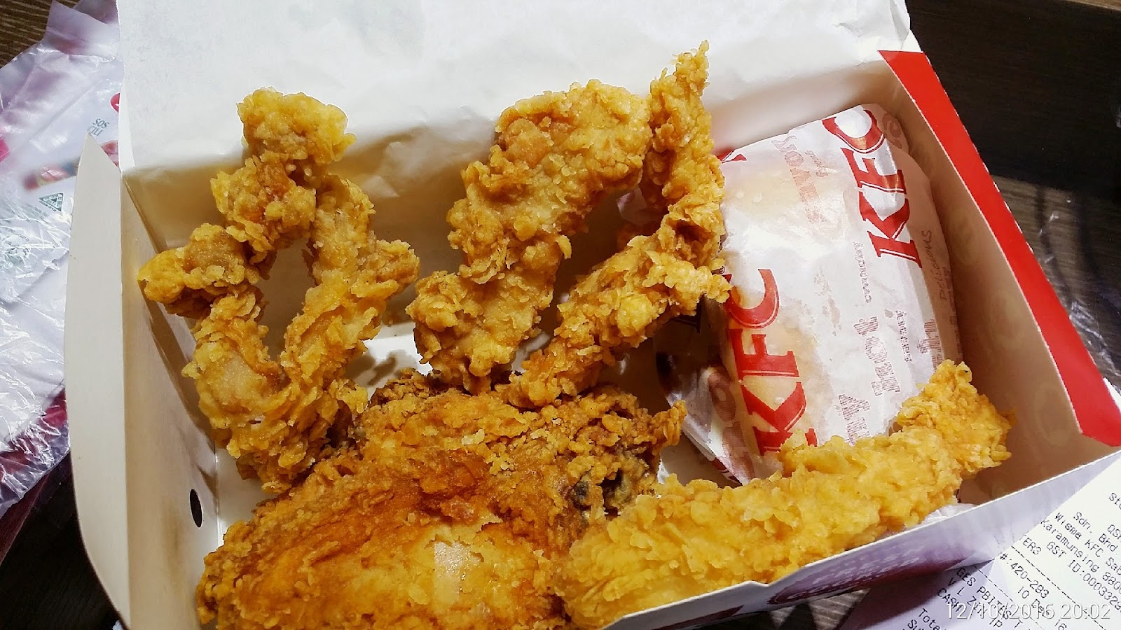 Foodie Camera: KFC Malaysia Crispy Tenders Super Jimat Box
