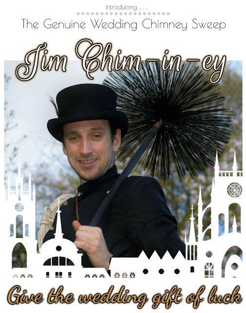 Jim Chim-in-ey - Dorset wedding chimney sweep 01