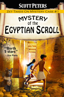 Mystery of the Egyptian Scroll book by Scott Peters