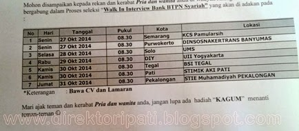 Alamat Bank Btpn Di Medan Kantor Bank Hsbc Di Indonesia Alamat Bank Ikuti Walk In Interview Loker Bank Btpn Syariah Di Stmik Aki Pati