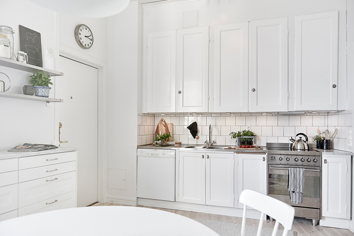 decoracion Cocina estilo nordico