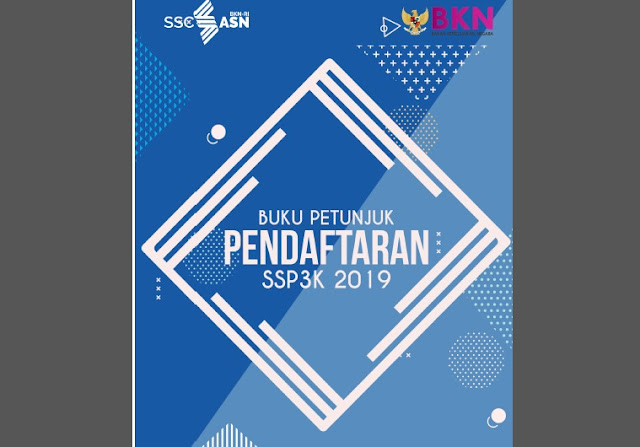 Download Buku Petunjuk Pendataran PPPK / P3K 2019 Format Pdf