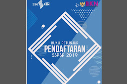 Download Buku Petunjuk Pendaftaran PPPK / P3K 2019 Format Pdf