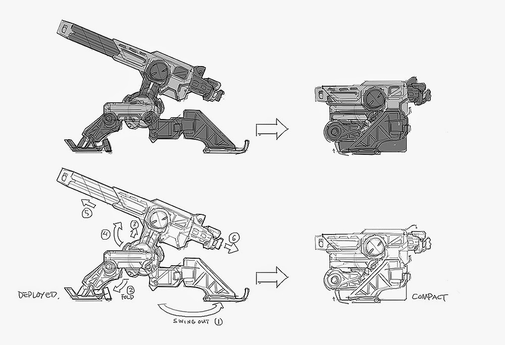 CIREISDEAD: Civilization: Beyond Earth / Weapon Concept Art