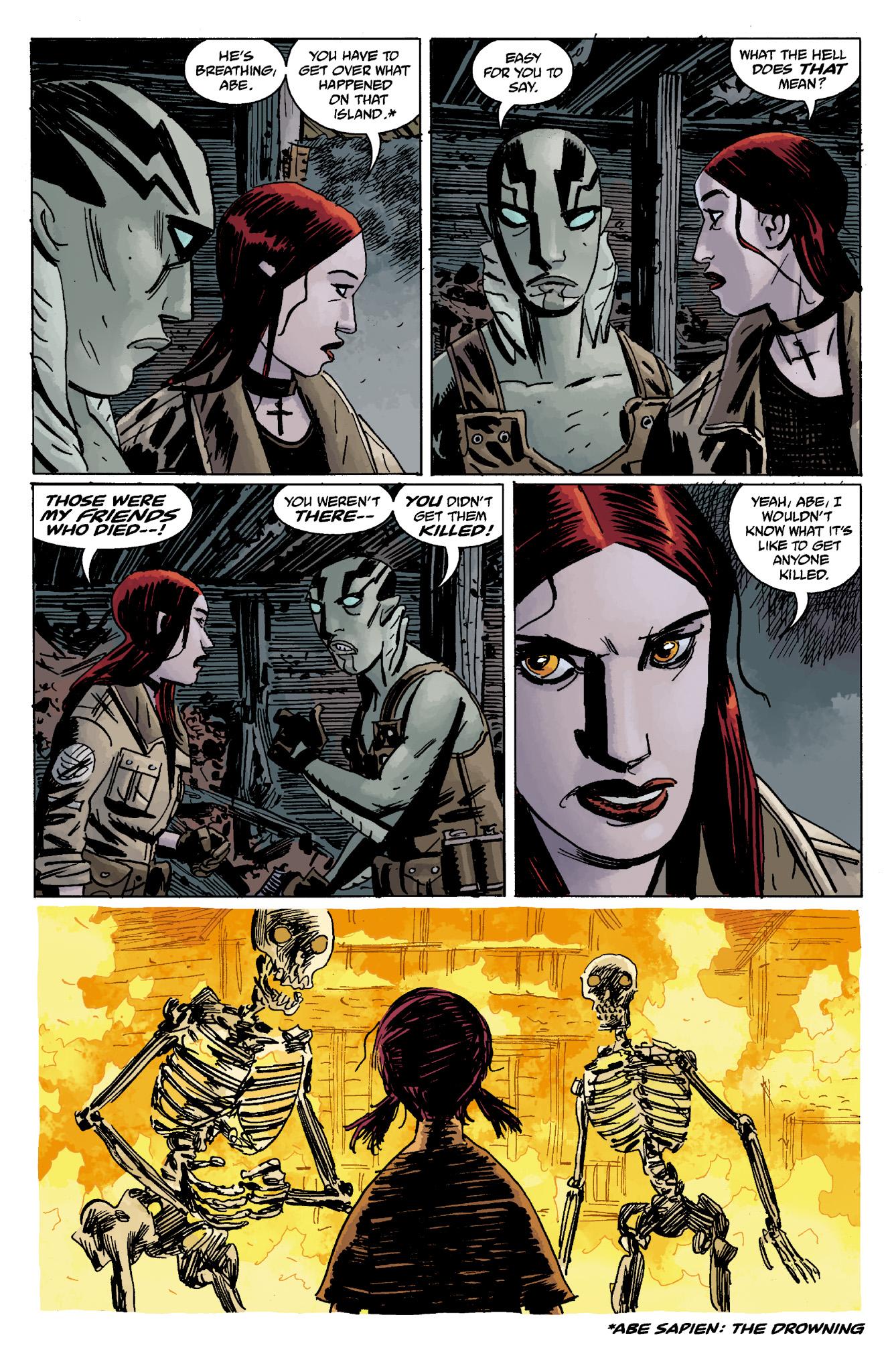 Read online Abe Sapien comic -  Issue #13 - 32