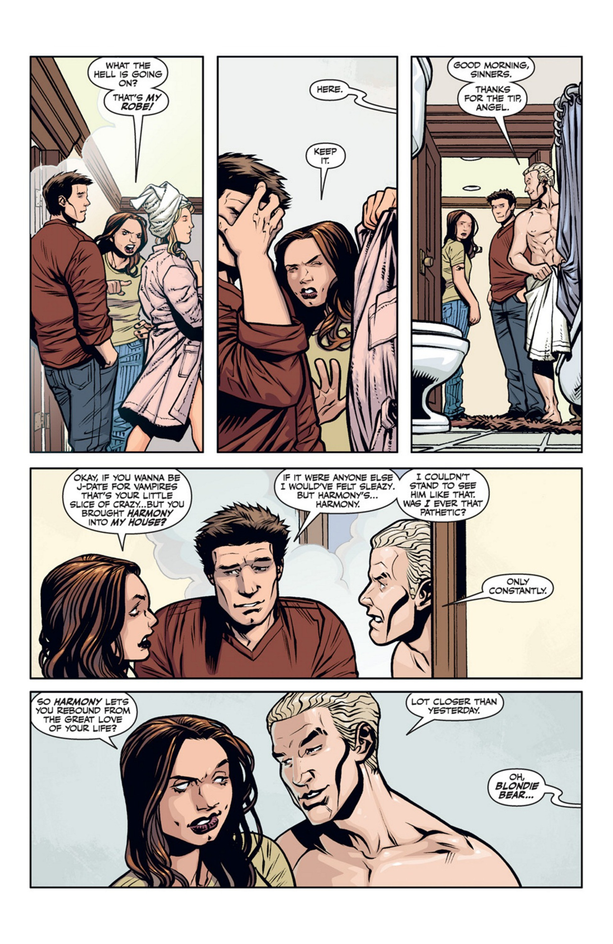 Read online Angel and Faith comic -  Issue #20 - 25