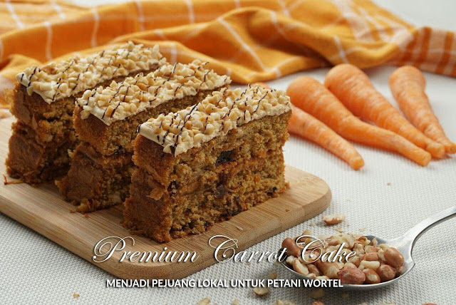 Menu pilihan: Premium Carrot Cake di Jogja Scrummy