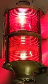 Hurricane warning lantern at NHC