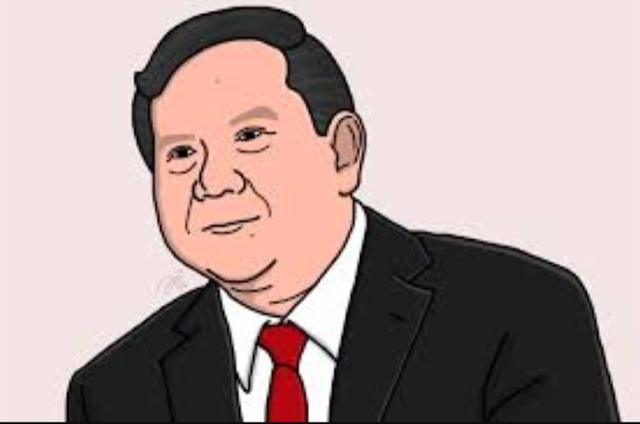 Karikatur Prabowo