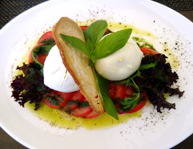Buffala Mozzarella UTO Kulm Restaurant Allegra