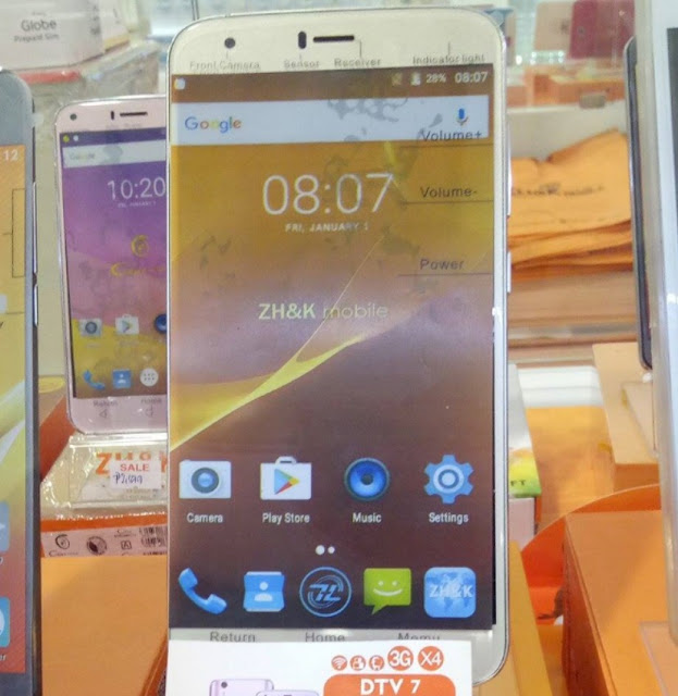 ZH&K Mobile DTV 7 Announced; 6-inch Android M w/ Digital TV for Php3,599