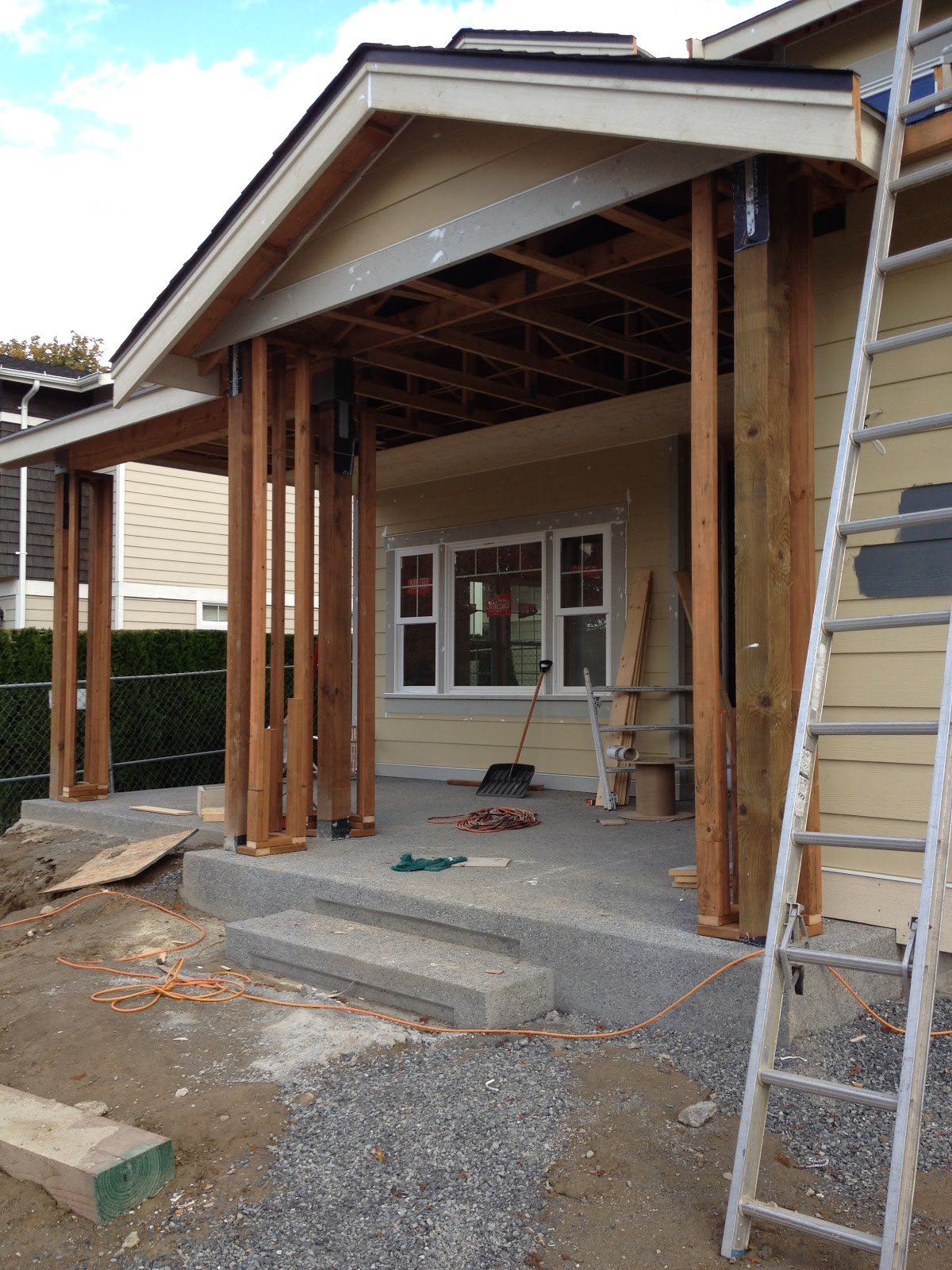 Exterior: Building Our Dream Home, From The Ground Up: Progress Photos