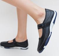 pantofi casual femei din piele naturala foarte ieftini