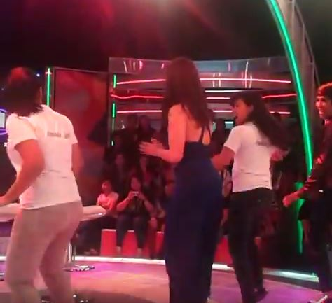 MUST WATCH: Angel Locsin Suprisingly Did This While She Was At Gandang Gabi Vice!