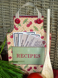free paper apron template  and tutorial from The Cherry On Top