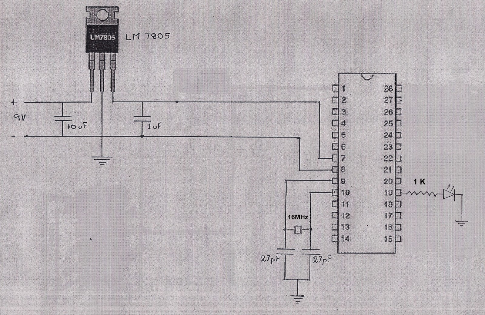 How To Use Atmega Microcontroller From Arduino Board On