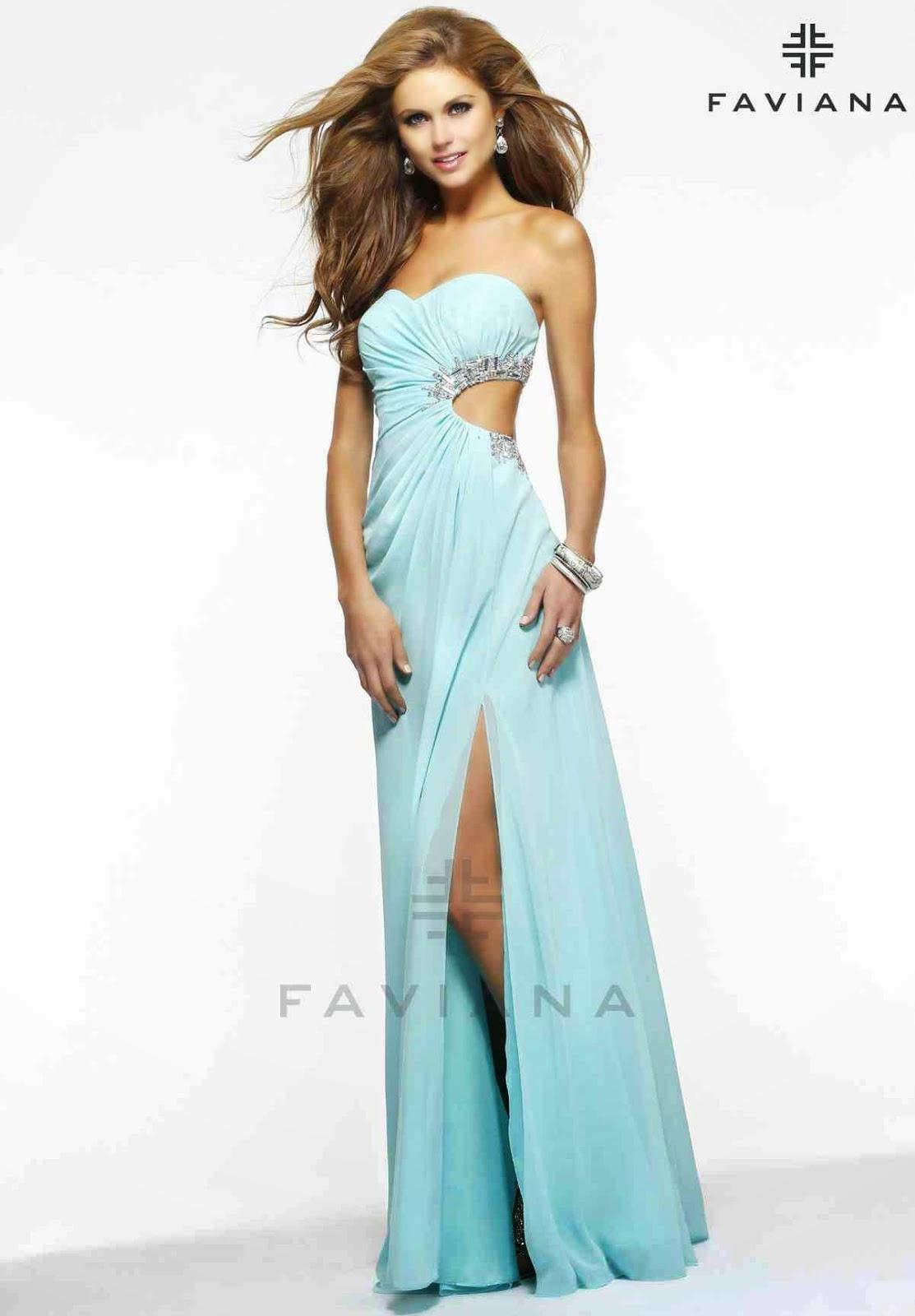 Moda para seoritas  Hermosos Vestidos de fiesta 2015