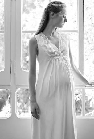 camisón maternidad Oysho primavera verano 2016