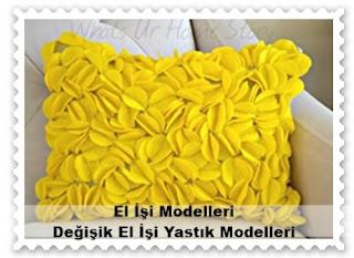 Kendin - El İşi Yastık Modelleri 9