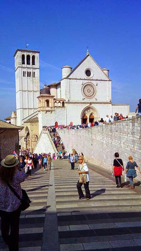 Basílica de São Francisco de Assis com guia em português