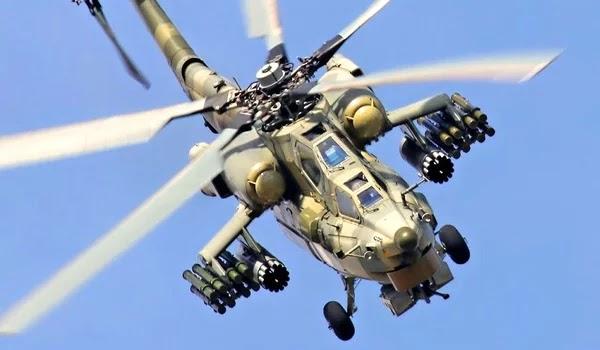 Για πρώτη φορά καταγράφονται ρωσικά επιθετικά ελικόπτερα Κa-52 Alligator εν δράσει στην Συρία [Βίντεο]