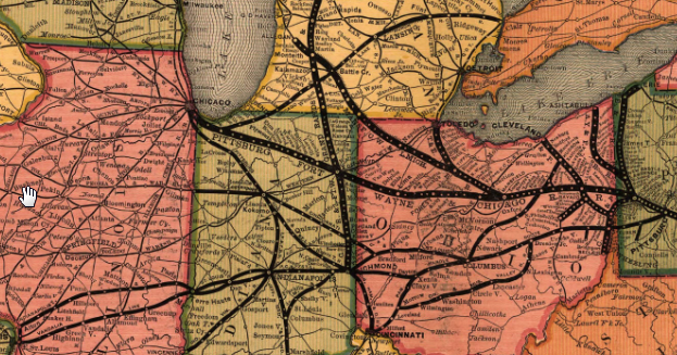 Industrial History: PRR's Panhandle Route (Pittsburgh ... on shreveport map, fort thomas map, cedartown map, waycross map, hopkinsville map, fairmont map, tell city map, mcpherson map, greencastle map, livonia map, clayton map, bennettsville map, villa rica map, elizabeth map, lafayette map, valparaiso map, oolitic map, scottsburg in map, lake charles map, london map,