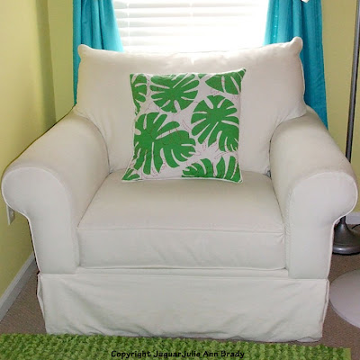 coastal cottage chic white overstuffed chair from havertys