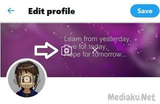 Ganti Foto Sampul Twitter Lewat UC Browser