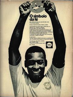copa do mundo 1970, shell. propaganda anos 70, história da década de 70, reclame anos 70; brazil in the 70s; Oswaldo Hernandez.