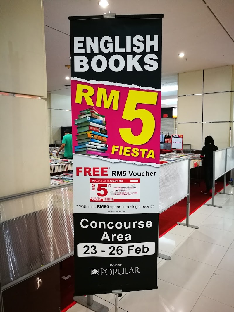 Popular RM 5 Fiesta, AmCorp Mall, PJ, 23 - 26 Feb 2017